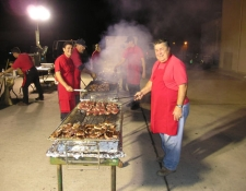 Outdoor Grilling Catering Event